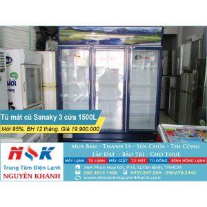 Tủ mát Sanaky VH-1500HY 1500 lít