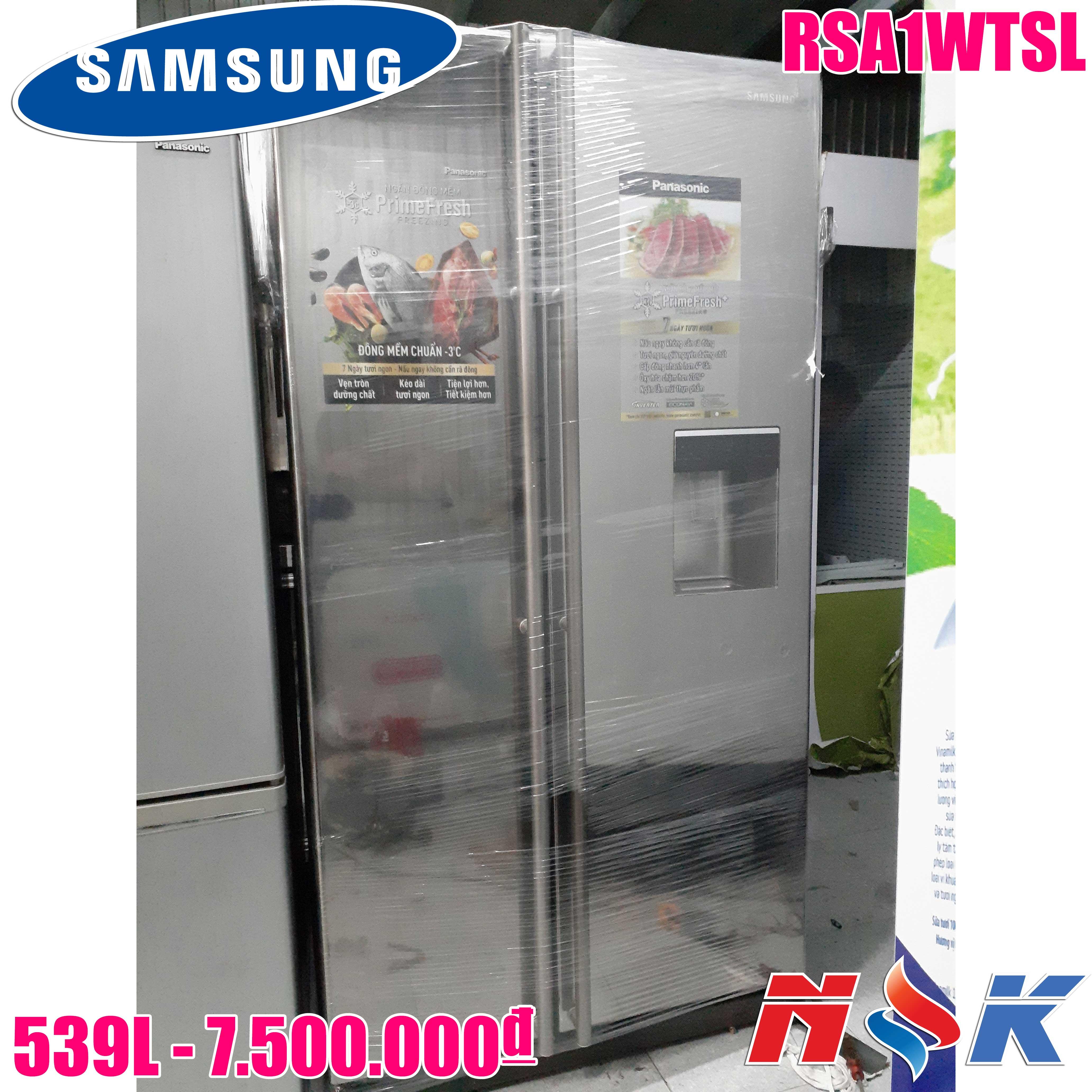 Tủ Lạnh Toshiba, Sanyo, Samsung, Panasonic... Mới & Cũ Giá Rẻ !!! - 5
