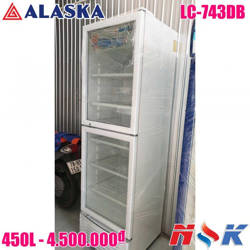 Tủ mát Alaska LC-743DB 450 lít