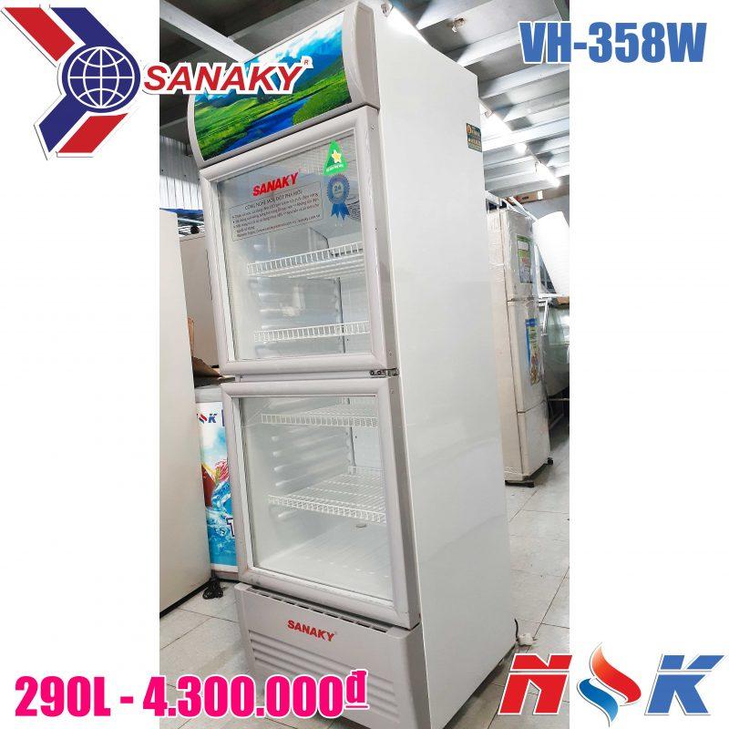 Tủ mát Sanaky VH-358W 290 lít