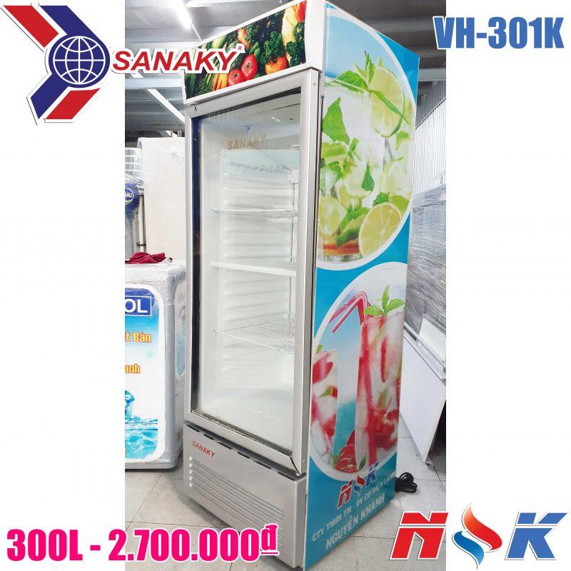 Tủ mát Sanaky VH-301K 300 lít