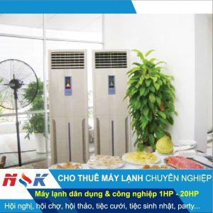 Cho thuê máy lạnh chuyên nghiệp HCM
