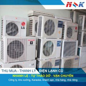 Thu mua, thanh lý điện lạnh cũ giá cao HCM