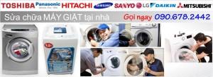Sửa chữa máy giặt tại nhà HCM
