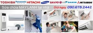 Sửa chữa máy lạnh tại nhà HCM