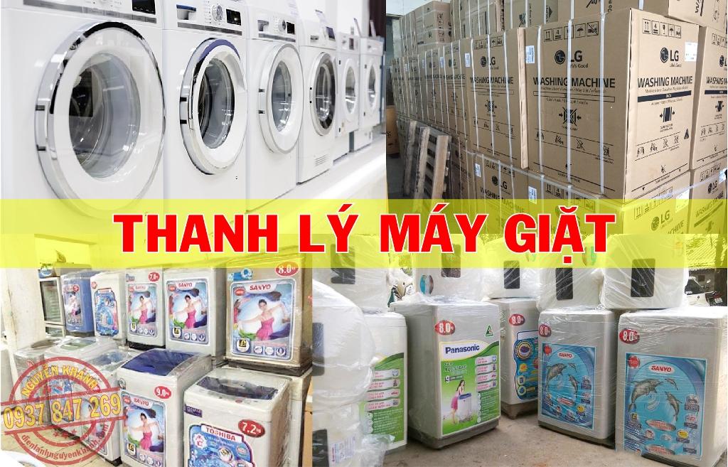 thu mua, thanh lý máy giặt tphcm