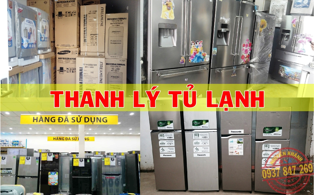 Thu mua, thanh lý tủ lạnh tận nơi tphcm