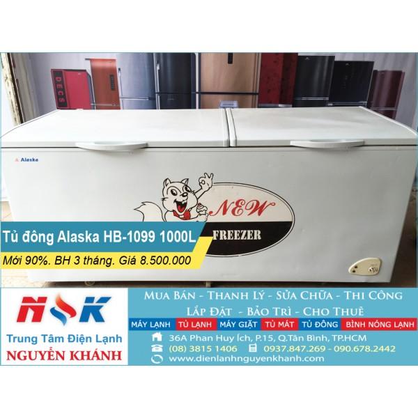 Tủ đông cũ Alaska HB-1099 1000 lít