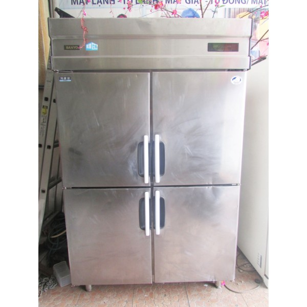 Tủ đông mát công nghiệp cũ Sanyo SRR-UV1283C 1000 lít