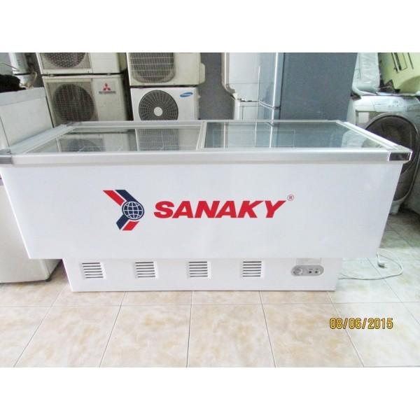 Tủ đông siêu thị cũ Sanaky VH-8009K 800 lít