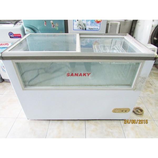 Tủ đông siêu thị cũ Sanaky VH-330K 350 lít