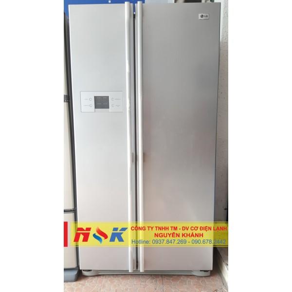 Tủ lạnh side by side LG GR-B207WLQ 581 lít