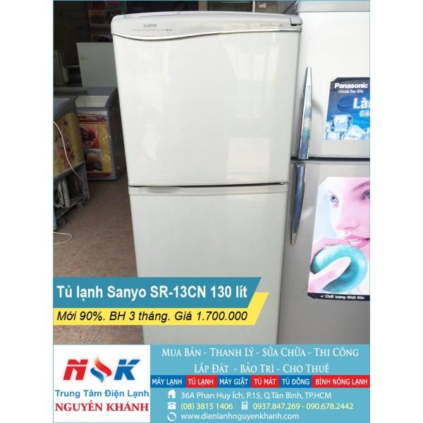 Tủ lạnh Sanyo SR-13CN 130 lít