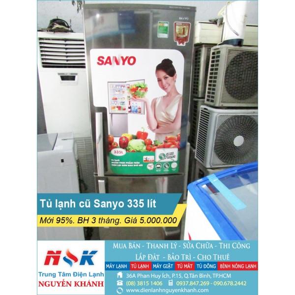 Tủ lạnh Sanyo SR-P345RB 335 lít