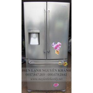 Tủ lạnh side by side Samsung SRF527DSLS 527 lít