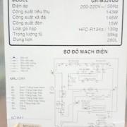 Tủ lạnh Toshiba GR-M32VUD 280 lít