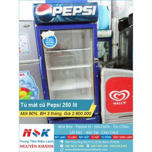 Tủ mát Pepsi 250 lít