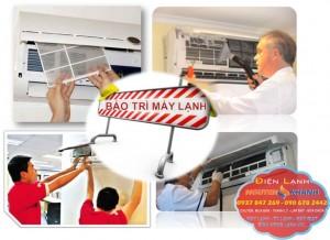Vệ sinh máy lạnh tại nhà giá rẻ HCM