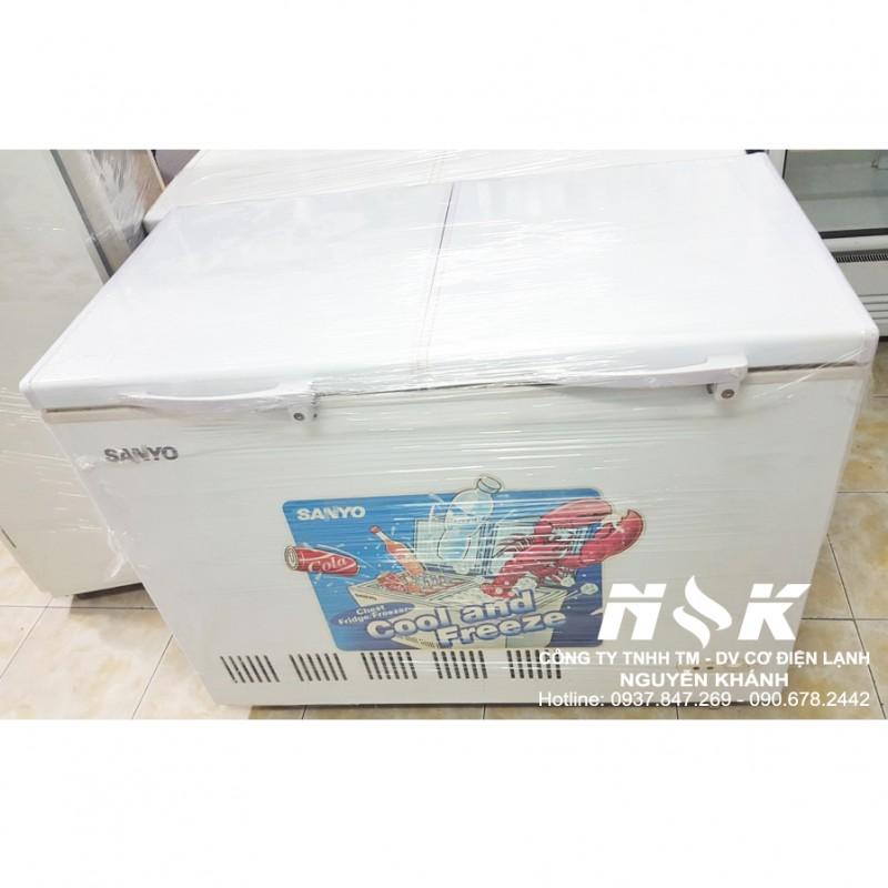 Tủ đông cũ Sanyo SF-CR27K 300 lít