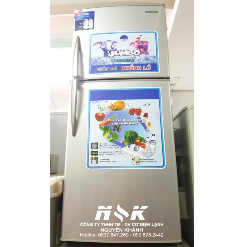Tủ lạnh Panasonic NR-BJ183S 183 lít