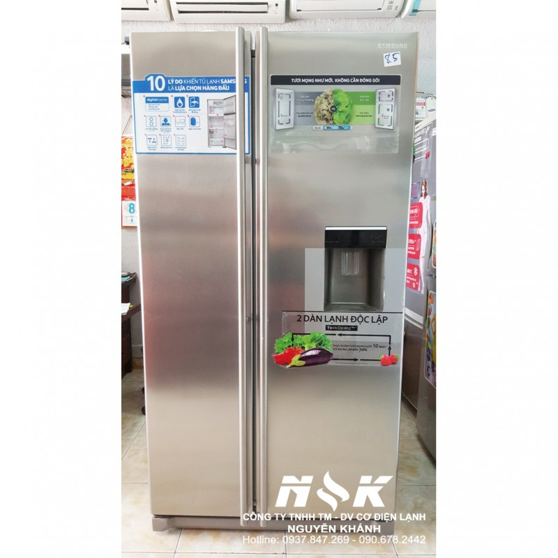 Tủ lạnh Side by Side Samsung RSA1WTSL 539 lít
