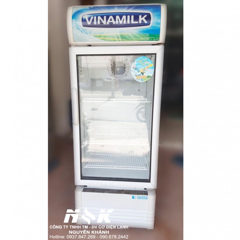 Tủ mát Vinamilk Sanden Intercool SPE-0253E11C 200 lít