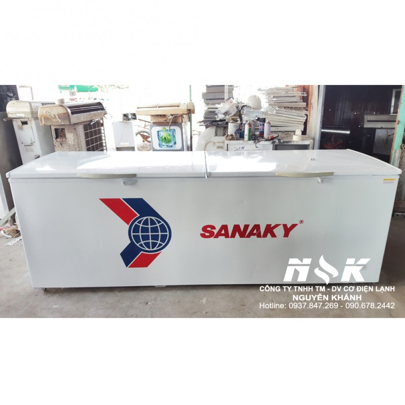 Tủ đông cũ Sanaky VH-1165HY 1100 lít