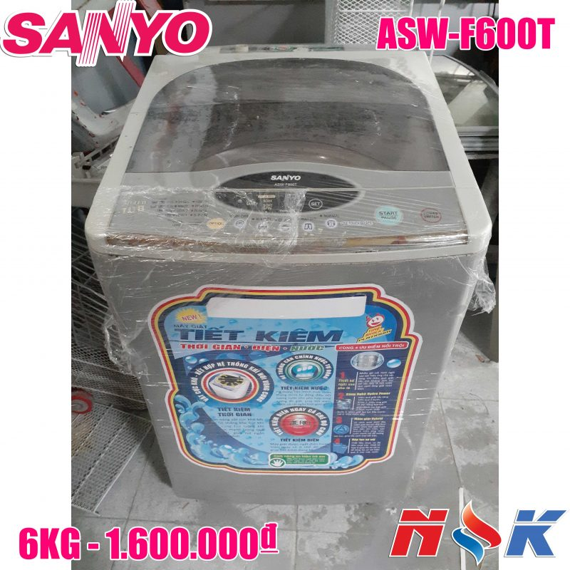 Máy giặt Sanyo ASW-F600T 6kg