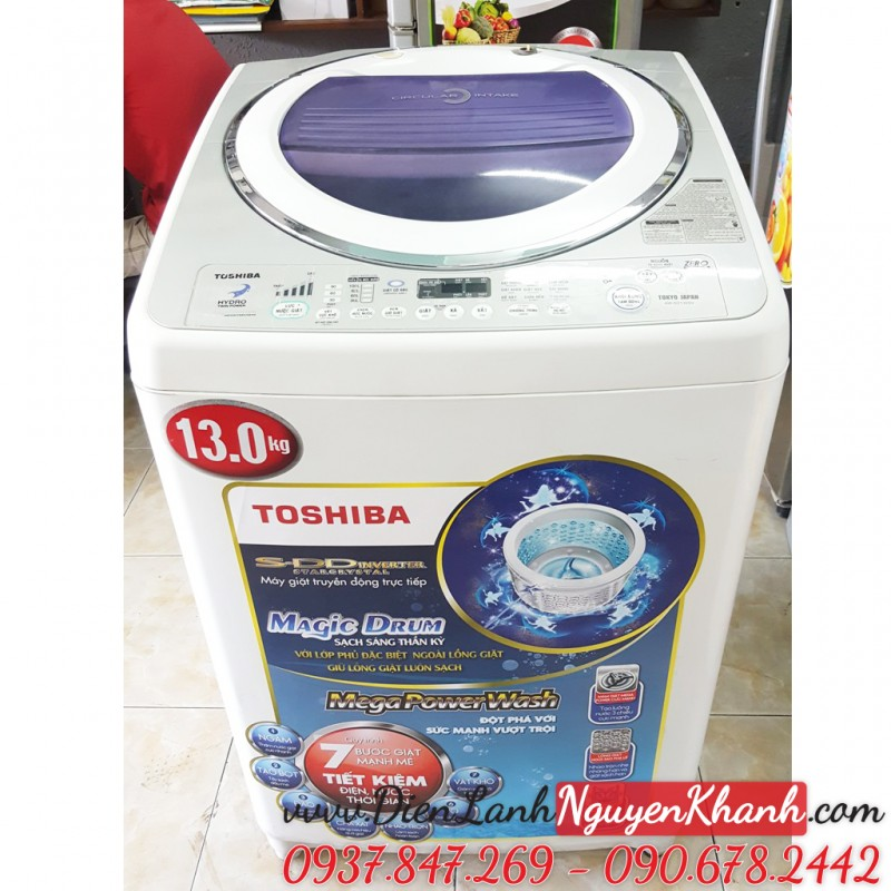 Máy giặt Toshiba Inverter AW-SD130SV 13kg
