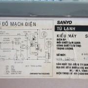 Tủ lạnh SANYO SR-P25JN 250 lít