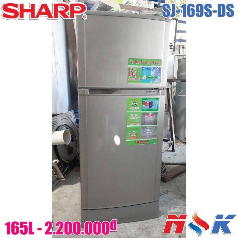 Tủ lạnh Sharp SJ-169S-DS 165 lít
