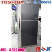 Tủ lạnh Toshiba GR-YG55VDA 497 lít