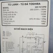 Tủ lạnh Toshiba GR-Y21VPD