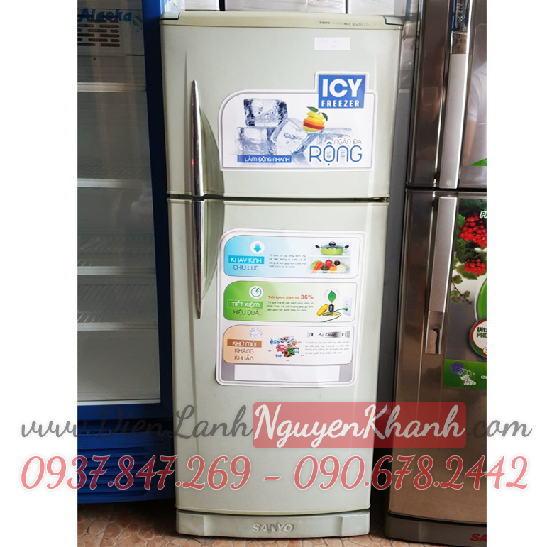 Tủ lạnh Sanyo SR-18CN 180 lít