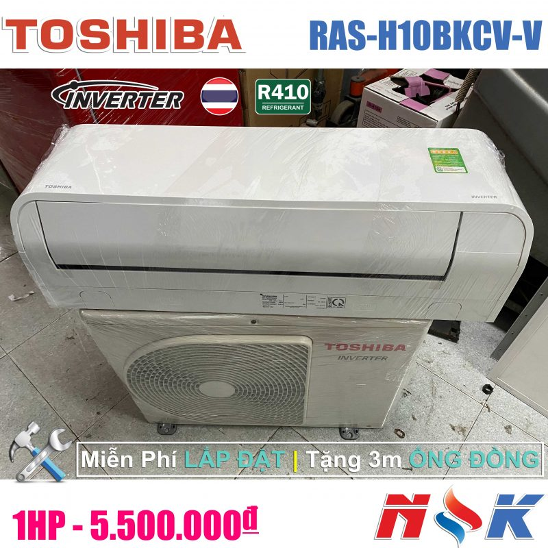 Máy lạnh Toshiba Inverter RAS-H10BKCV-V 1HP