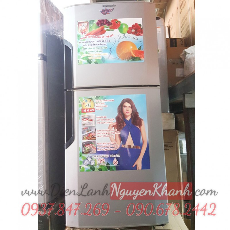 Tủ lạnh Panasonic NR-BJ176SSVN 152 lít