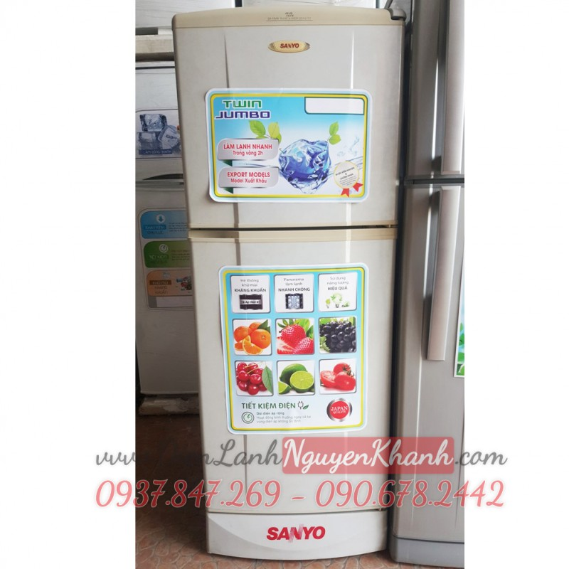 Tủ lạnh Sanyo SR-13VN 130 lít