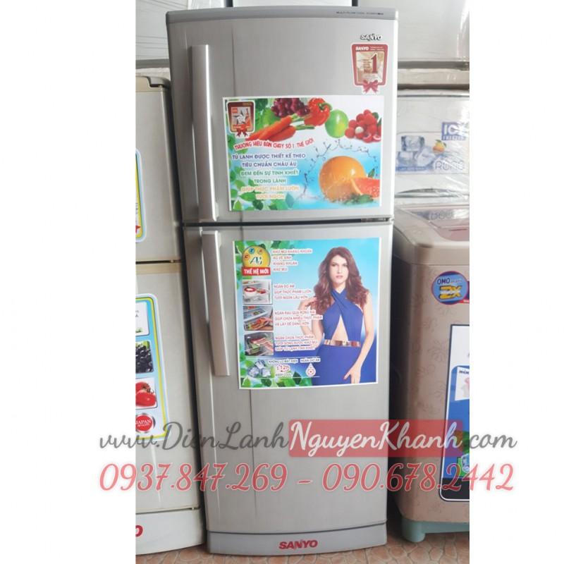 Tủ lạnh Sanyo SR-S205PN 186 lít