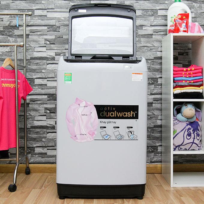Máy giặt Samsung WA10J5710SG/SV 10 kg