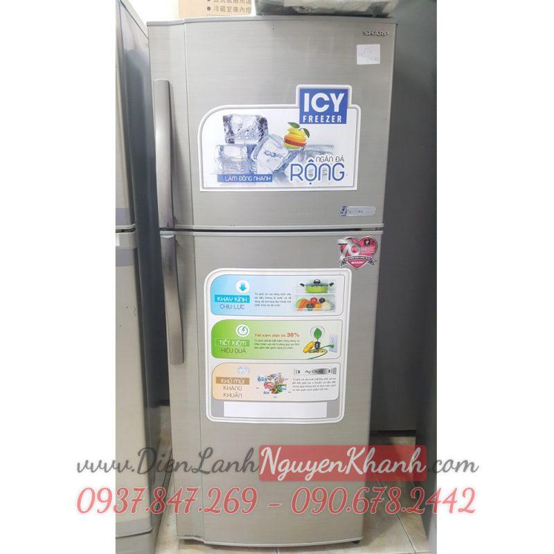 Tủ lạnh Sharp SJ-225S-SL 245 lít