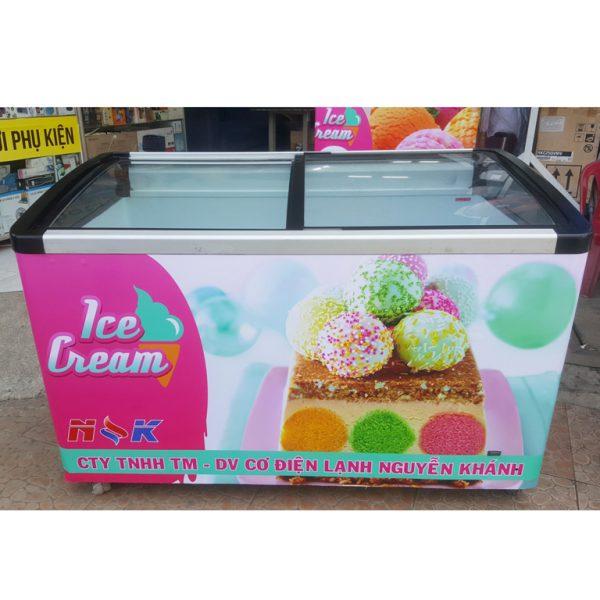 Tủ đông kem liebherr 400 lít