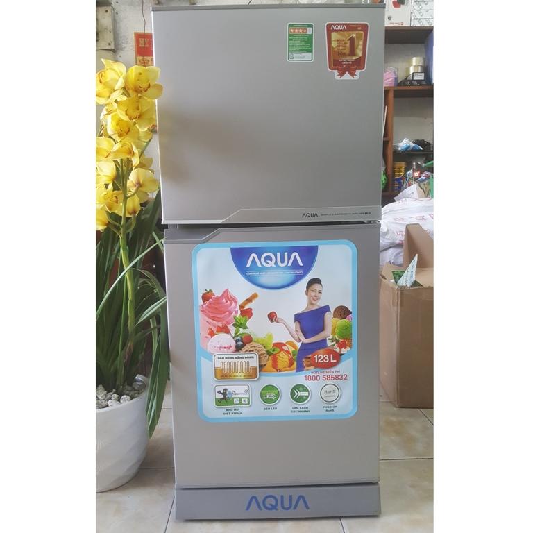 Tủ lạnh Aqua AQR-125BN(SS) 110 lít
