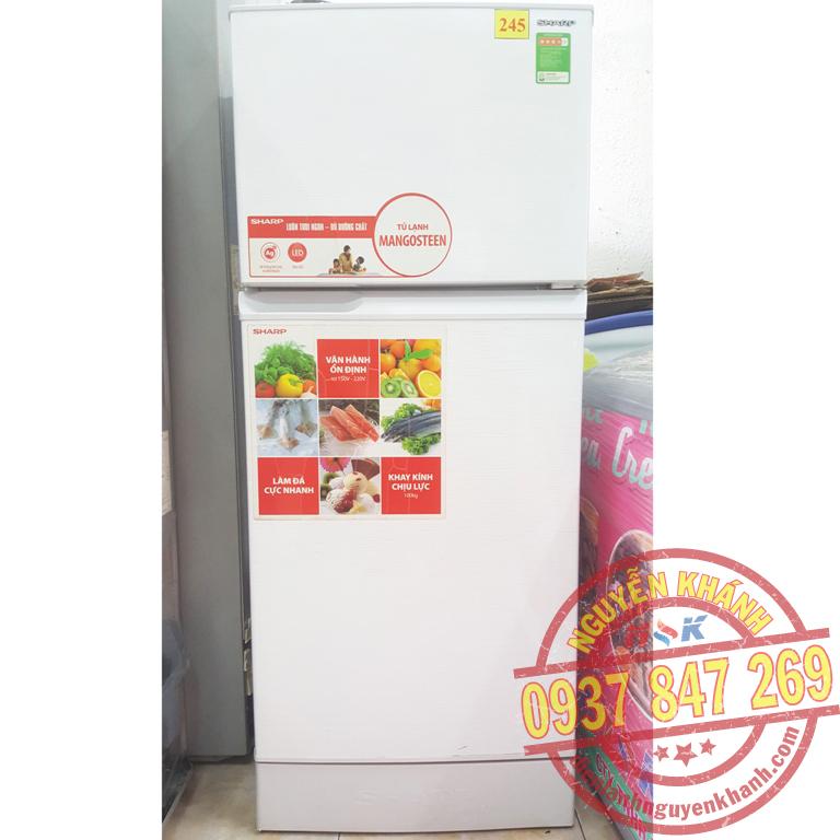 Tủ lạnh Sharp SJ-173E-WH 165 lít