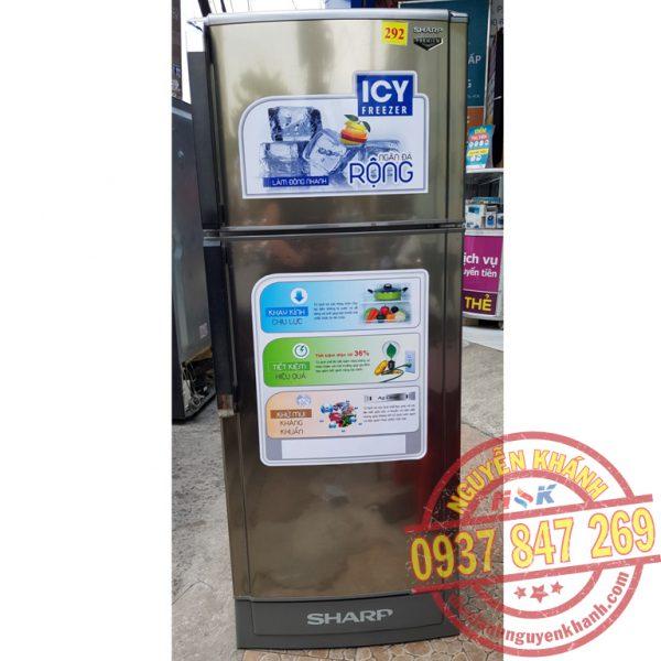 Tủ lạnh Sharp SJ-185P-SL 180 lít