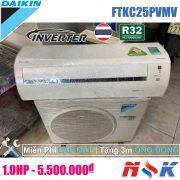 Máy lạnh Daikin Inverter FTKC25PVMV 1HP