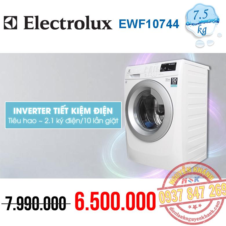 Máy giặt Electrolux Inverter EWF10744 7.5kg