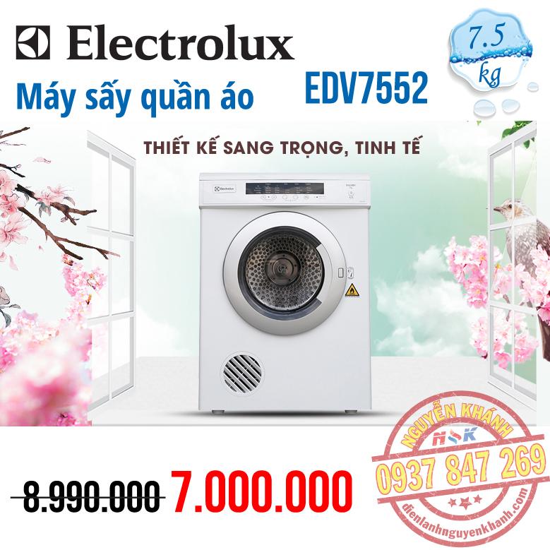 Máy sấy ElectroluxEDV7552 7.5kg
