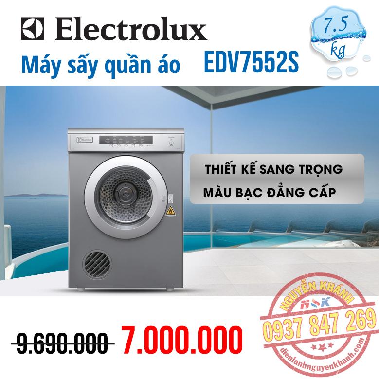 Máy sấy ElectroluxEDV7552S 7.5kg
