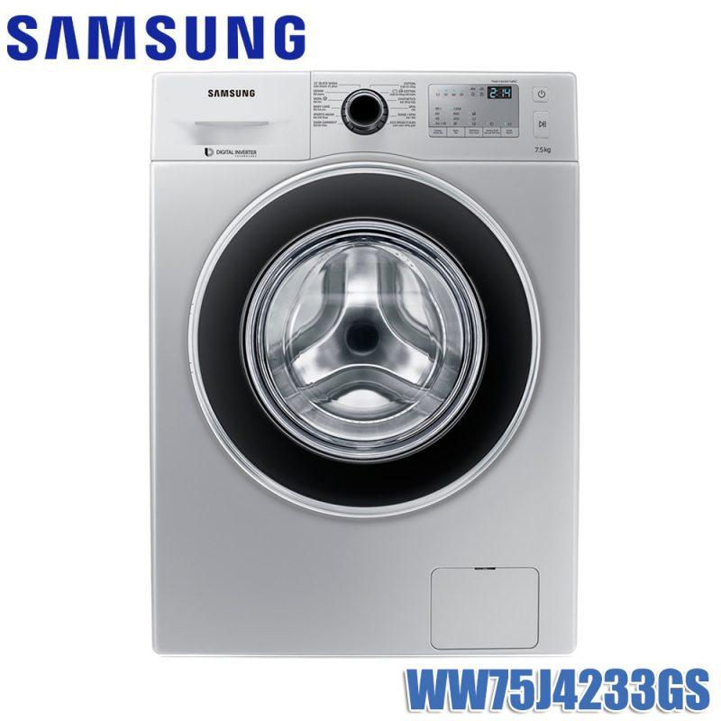 Máy giặt Samsung Inverter WW75J4233GS 7.5kg