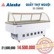 Quầy thịt nguội Alaska SC-2000Z